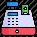 cash register, payment, cash machine, money, cash, credit, currency