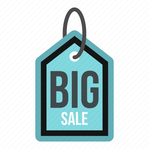 big, discount, marketing, open, price, sale, tag icon
