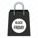bag, friday, marketing, open, price, sale, tag icon