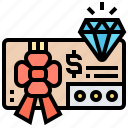 gift, offer, promotion, reward, voucher icon