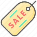 black friday, cyber, monday, sale, tag icon