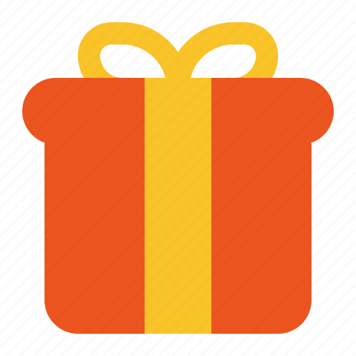 black, friday, gift, giveaway icon
