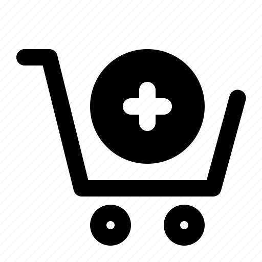 add, buy, cart, checkout, shopping, trolley icon
