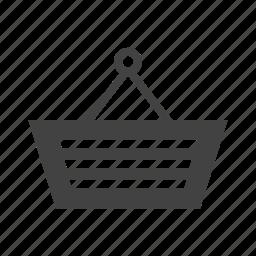 basket, purchases, shopping, shopping bag, shopping basket icon