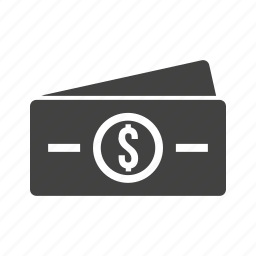 banking, business, cash, currency, dollar, dollar bills, money icon