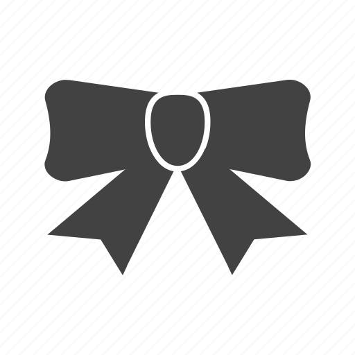 bow, gift, ribbon, tied ribbon icon