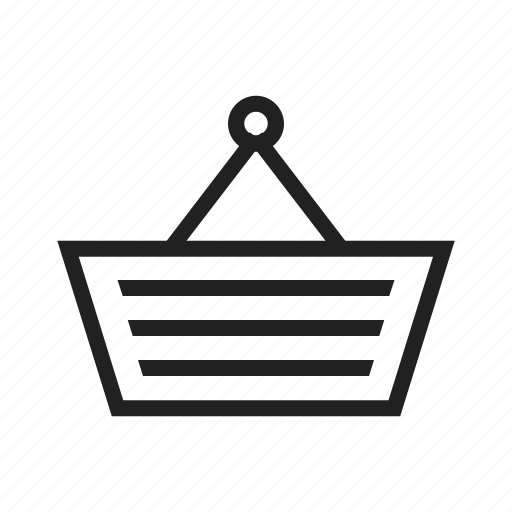 basket, purchases, shopping, shopping bag, shopping basket icon