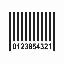 bar code, barcode, code, item, price icon