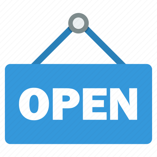 black friday, board, open, shop, shopping, stall, store icon