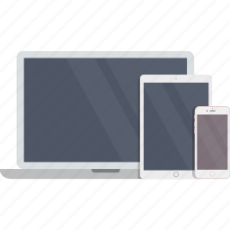 computer, electronics, ipad, iphone, laptop, macbook, phone icon