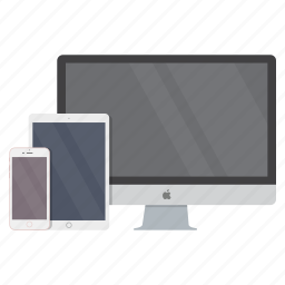 computer, electronics, imac, ipad, iphone, phone, tablet icon