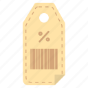 black friday, item, list, price tag, purchase, sale, shopping icon