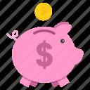 bank, banking, piggy, save, savings, shopping, guardar