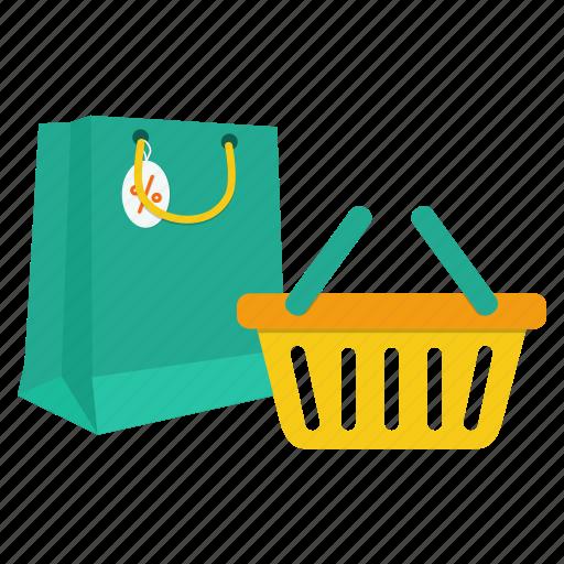 bag, basket, black friday, buy, purchase, sale, shopping icon