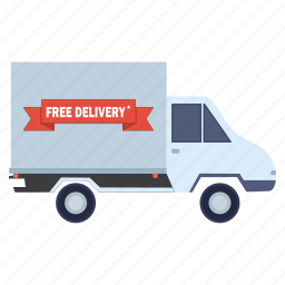 black friday, delivery, shopping, transport, van icon