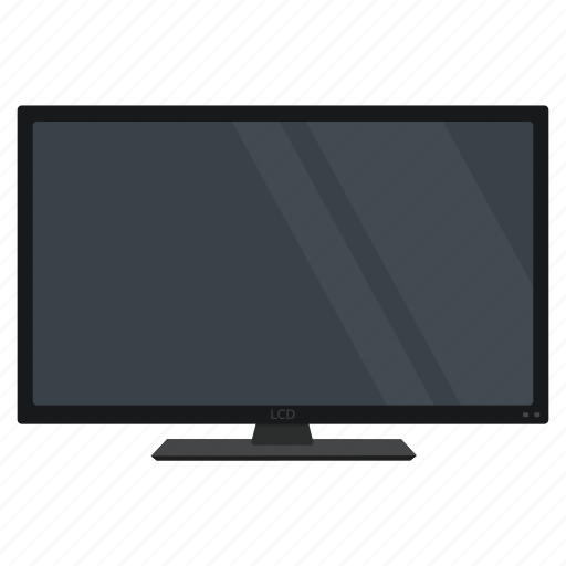 device, electronics, monitor, screen, smart, television, tv icon