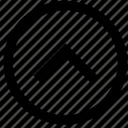 arrow, shift, up icon