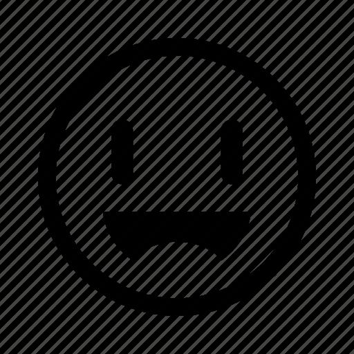 emoticon, happy, joy, laugh, smile icon