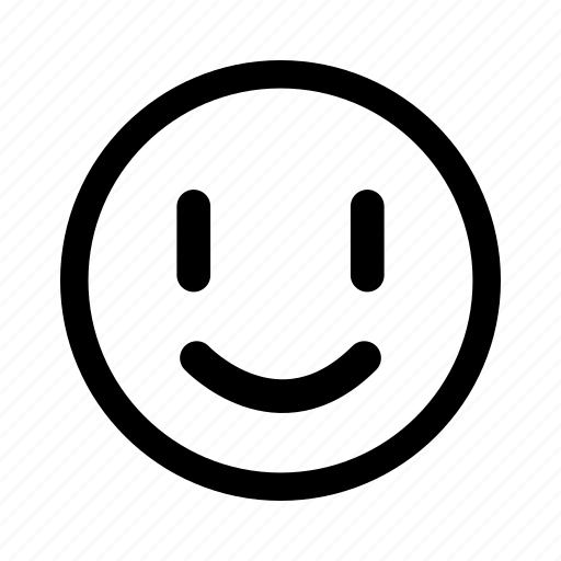 emoticon, happy, joy, smile, sunny icon
