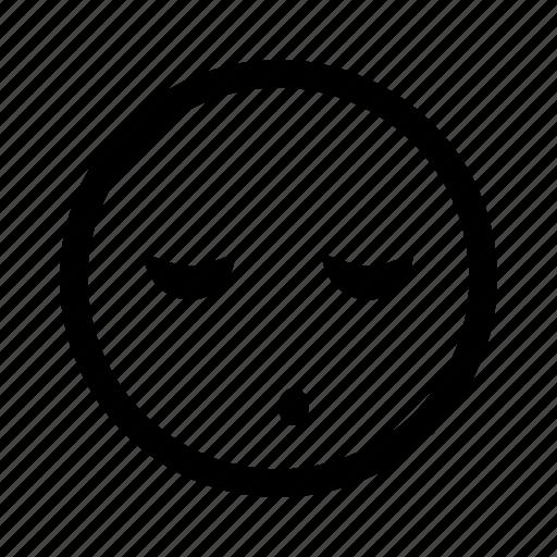 bored, emoticon, sleeping, sleepy, snore icon