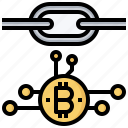 bitcoin, blockchain, business, currency, market, money, payment icon