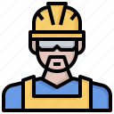 avatar, job, man, miner, people, profession, worker icon