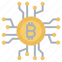 bitcoin, blockchain, business, cryptocurrency, currency, finance icon