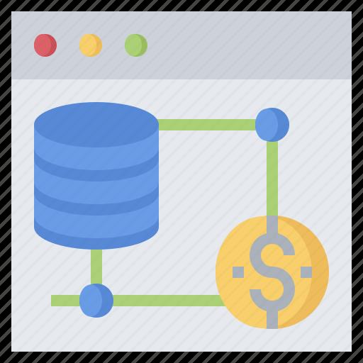 Cloud, computing, data, database, file, server, storage icon - Download on Iconfinder