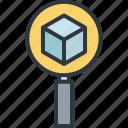 bitcoin, blockchain, business, digital, finance, magnifier, research