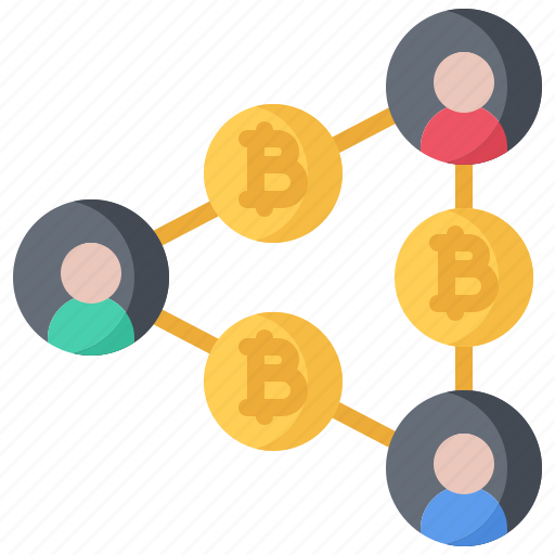 Bitcoin, block, chain, coin, cryptocurrency, network, transfer icon - Download on Iconfinder