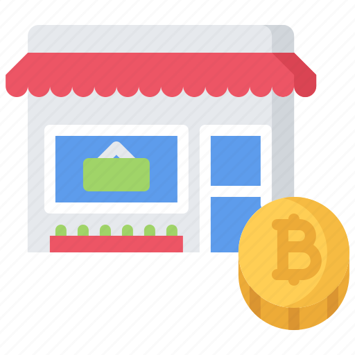 Bitcoin, block, chain, coin, cryptocurrency, product, shop icon - Download on Iconfinder