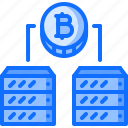 bitcoin, block, chain, coin, cryptocurrency, data, server