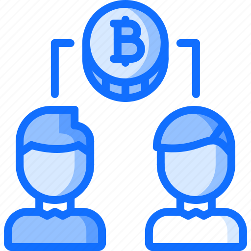 bitcoin, co, coin, cryptocurrency, founder, user, users icon