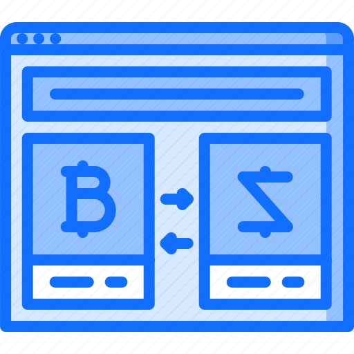 bitcoin, block, chain, coin, cryptocurrency, exchanger, site icon