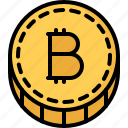 bitcoin, block, chain, coin, cryptocurrency