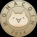 blockchain, monacoin icon