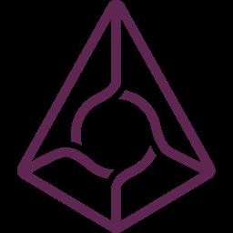 augur, blockchain icon