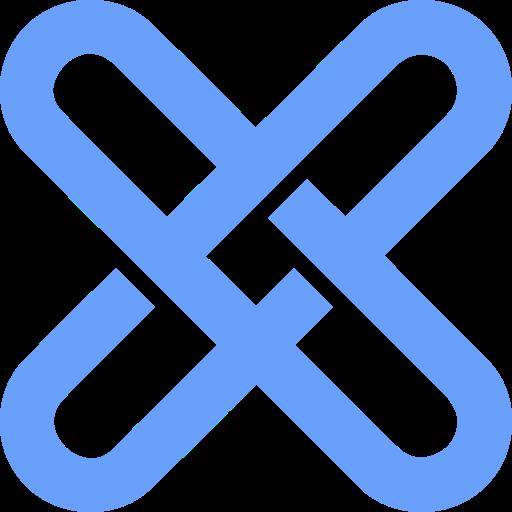 blockchain, gxshares icon