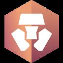 blockchain, monaco icon