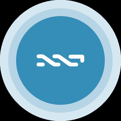 blockchain, nxt icon