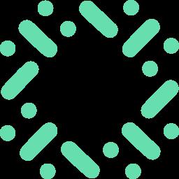 blockchain, particl icon