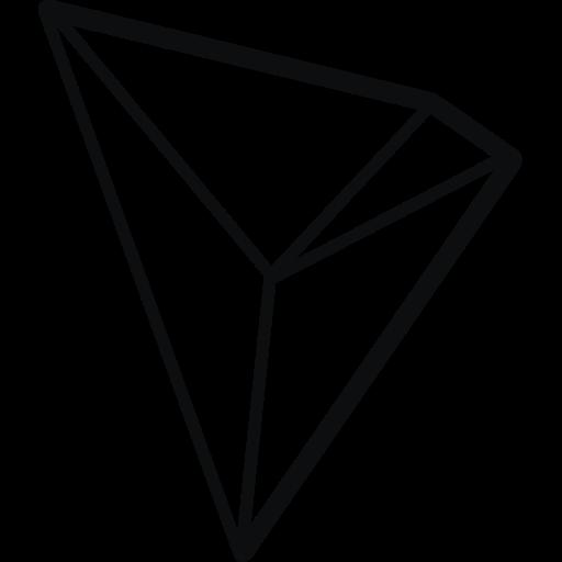 blockchain, tron icon
