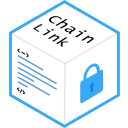 blockchain, chainlink icon