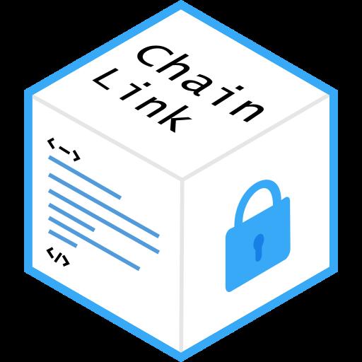 blockchain, chainlink icon