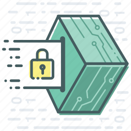 blockchain, cryptocurrency, data, file, secure icon