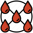blood, donation, drop, healthcare, medical, tools icon