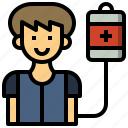charity, donor, goodwill, healthcare, medical, solidarity icon