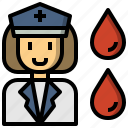 blood, doctor, medical, nurse icon