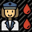 blood, doctor, medical, nurse icon