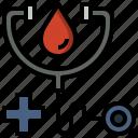 doctor, health, healthcare, medical, phonendoscope, stethoscope icon